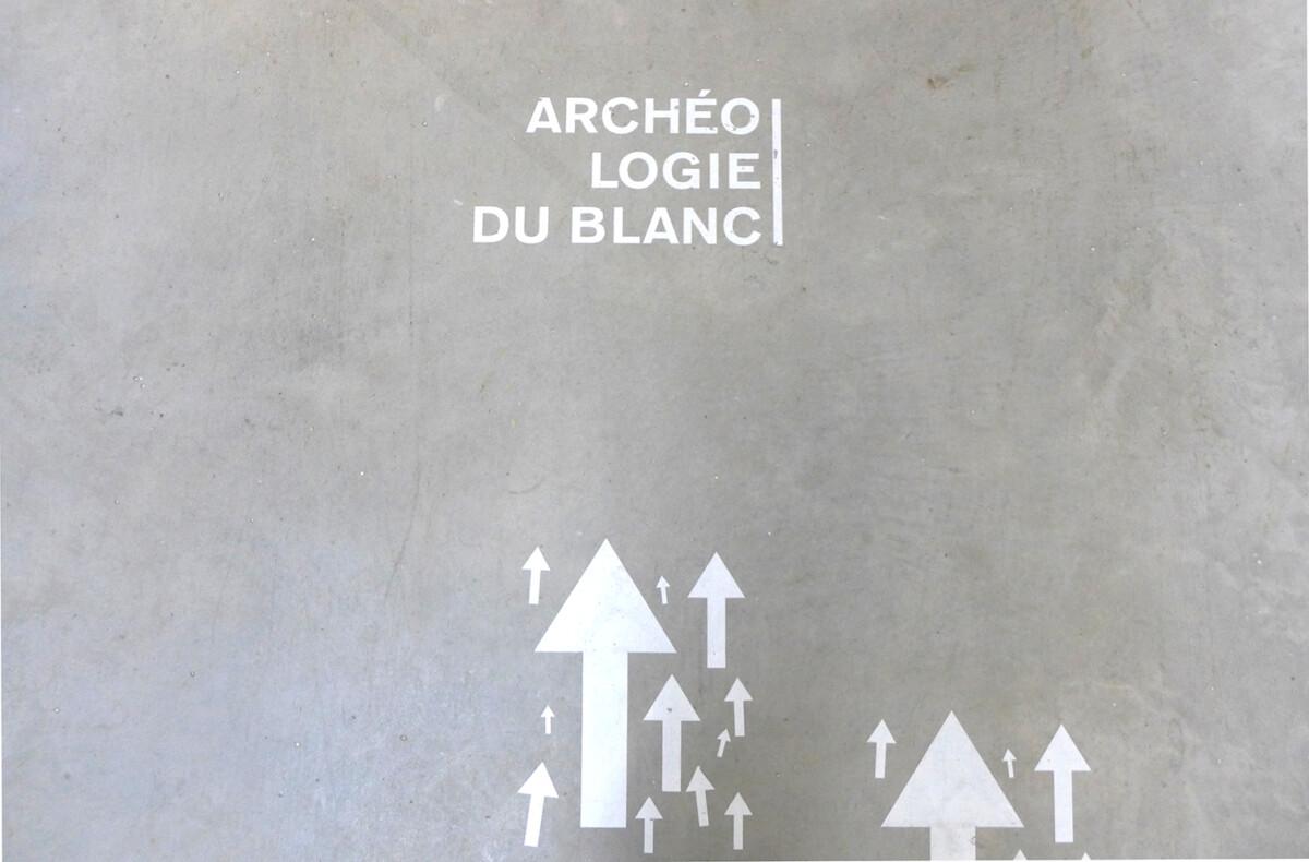 archéologie du blanc, recherche dans le cadre IDEX, Arts & Sciences de l'Université de Bordeaux. Blandine Galtier et Hélène Soulier