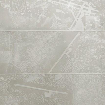 gray 8, pièce unique. Techniques : eau-forte, aquatinte, gaufrage, blandine galtier ©