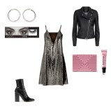 Dress: MCQ, Jacket: Set