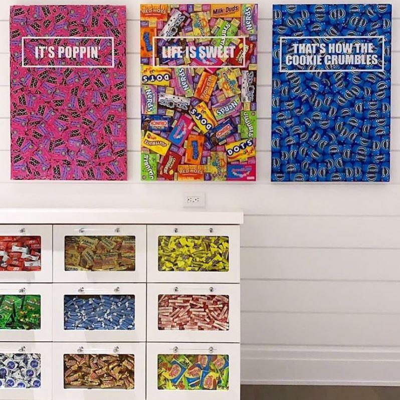 candy art byrobynblair blankbox custom gift