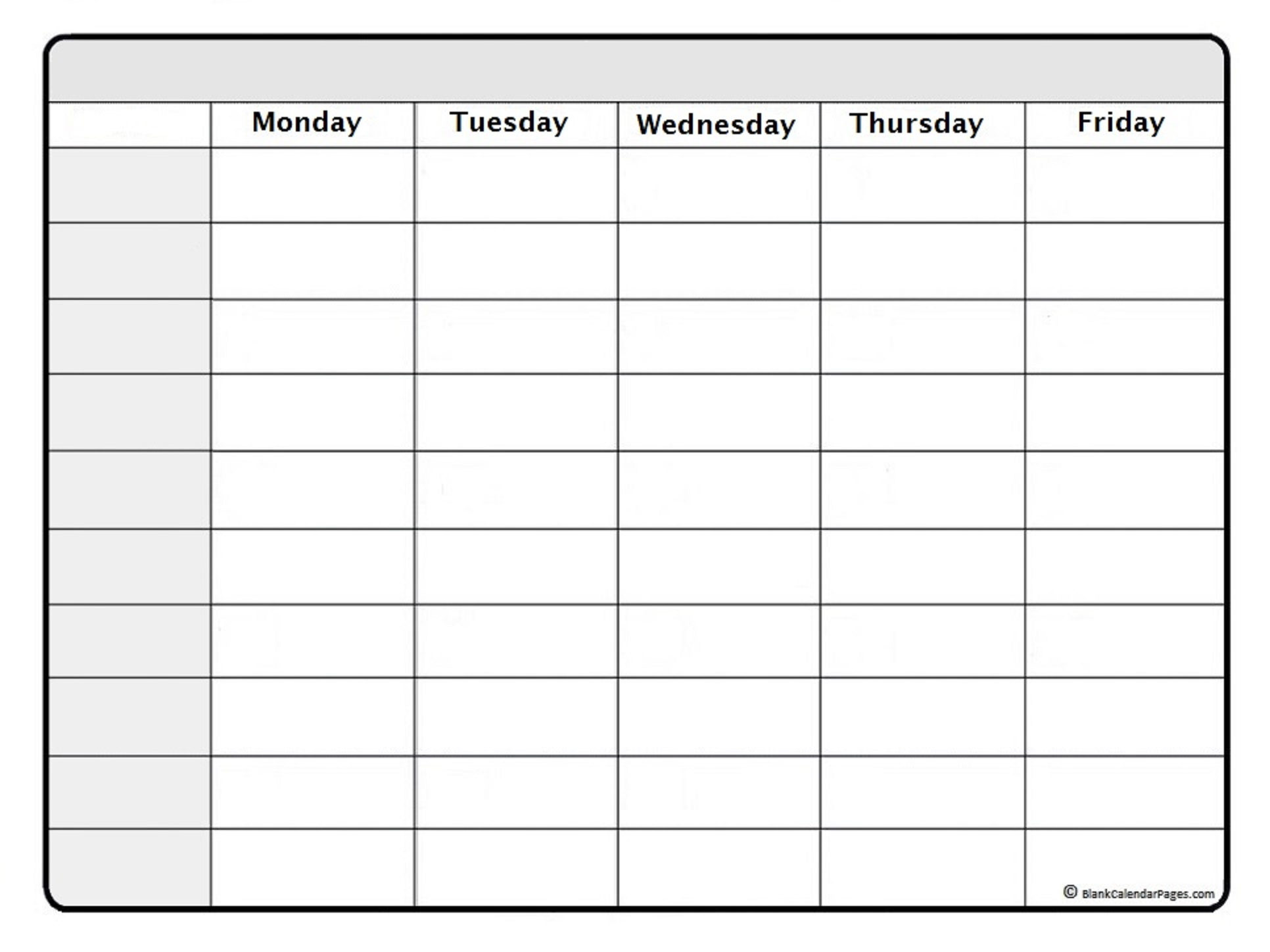 January 2020 Weekly Calendar January 2020 Weekly Calendar