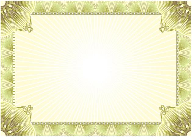 Free Blank Certificate Templates 5 blank certificate samples – Free Blank Certificate Templates