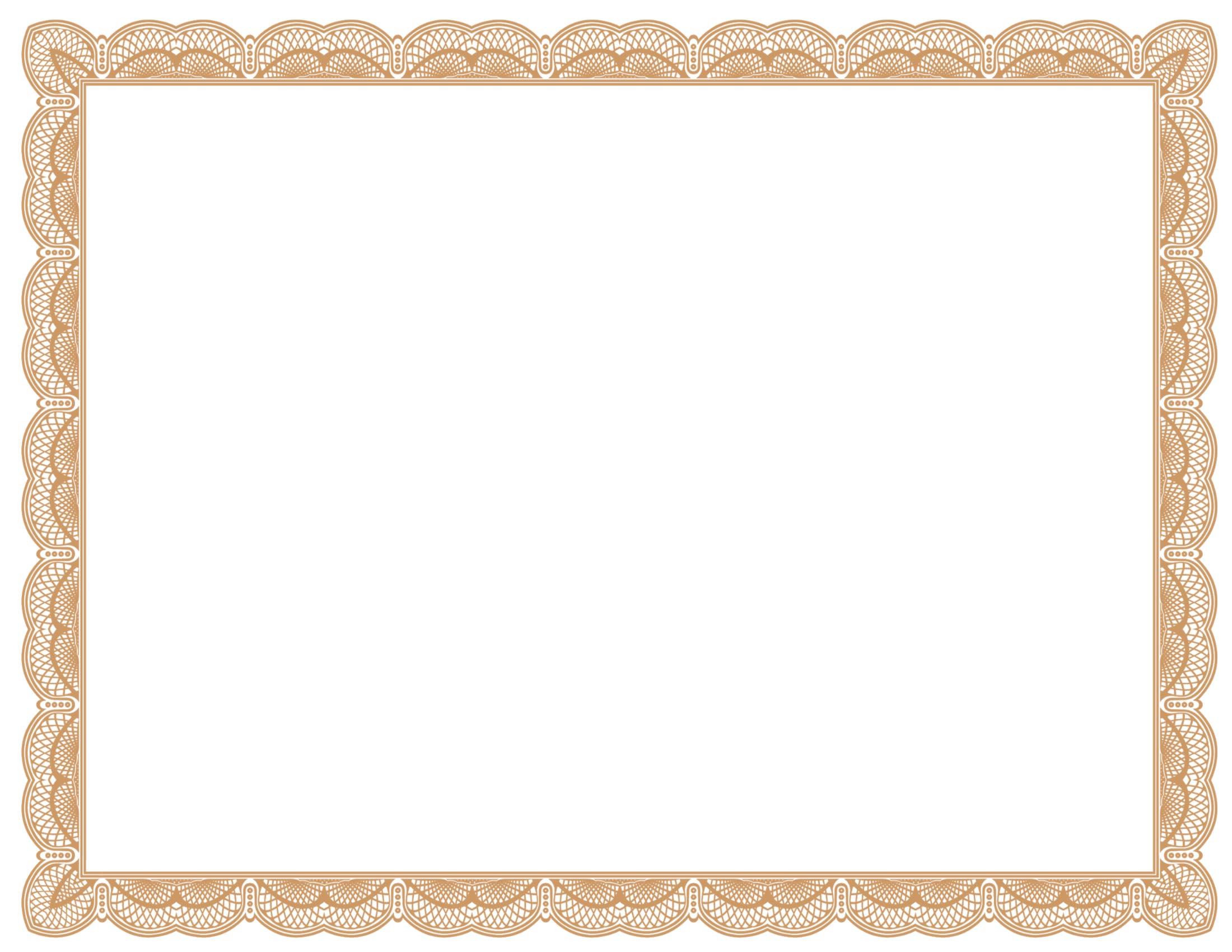 Free Blank Certificate Template free printable distinguished – Free Blank Certificate Templates