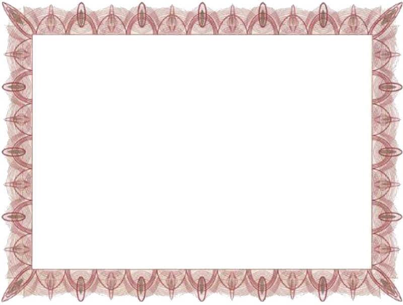 Free Blank Certificate Template blank award templates blank stock – Free Blank Certificate Templates