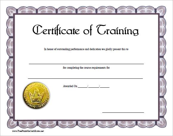 blank certificates template blank award certificate template – Business Certificate Template