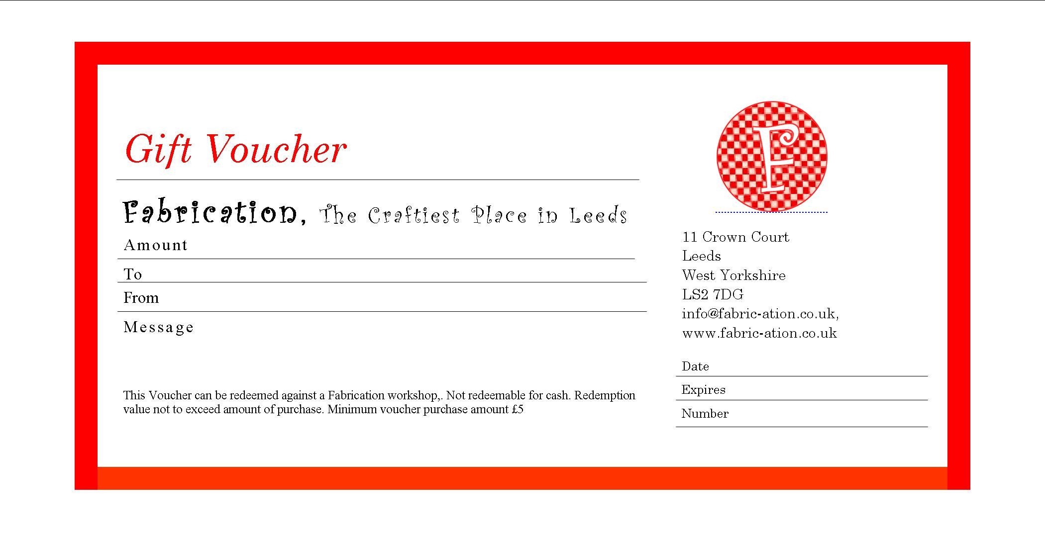 Printable Christmas Gift Certificate holiday gift voucher – Christmas Gift Card Template