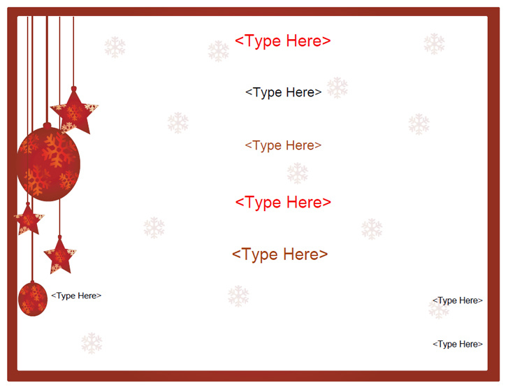 Word Holiday Template. 19 holiday border templates free psd vector ...