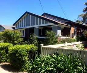 Californian Bungalow Exterior Paint Scheme
