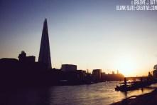 London - The Shard - sunset