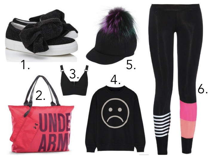edgy Athleisue looks