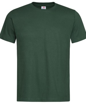 Stedamn Men T Shirt Bottle Green