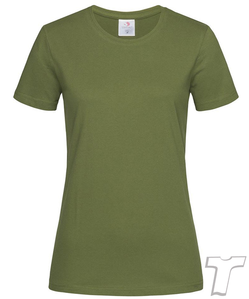 Stedman Light-Weight Ladies T-Shirt Hunter Green
