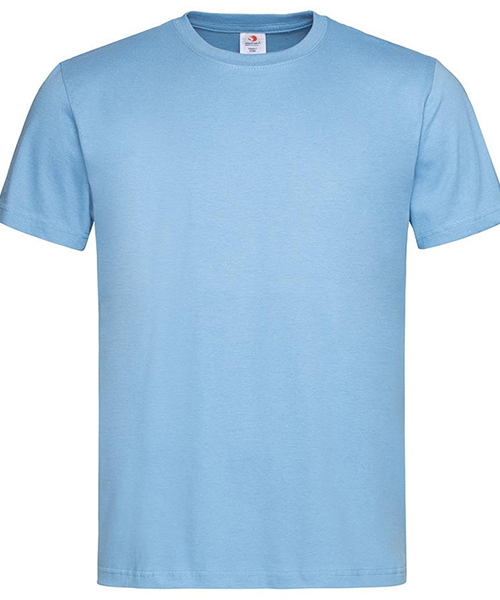 Stedamn Men T Shirt Light Blue