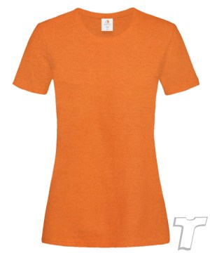 Stedman Light-Weight Ladies T-Shirt Orange