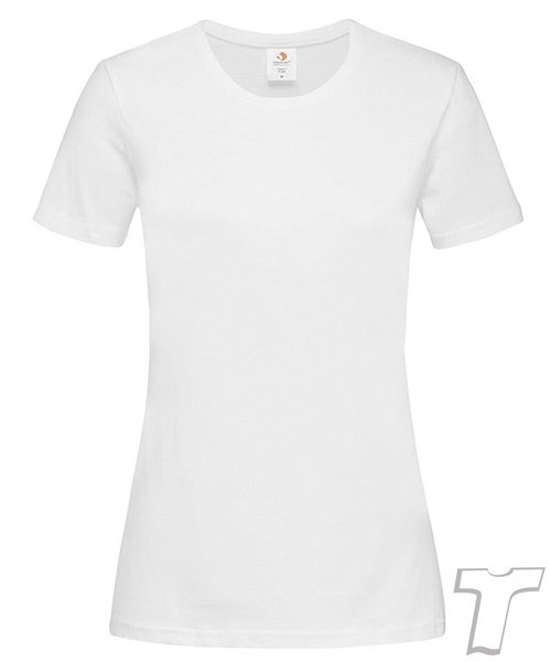 Stedman Light-Weight Ladies T-Shirt White