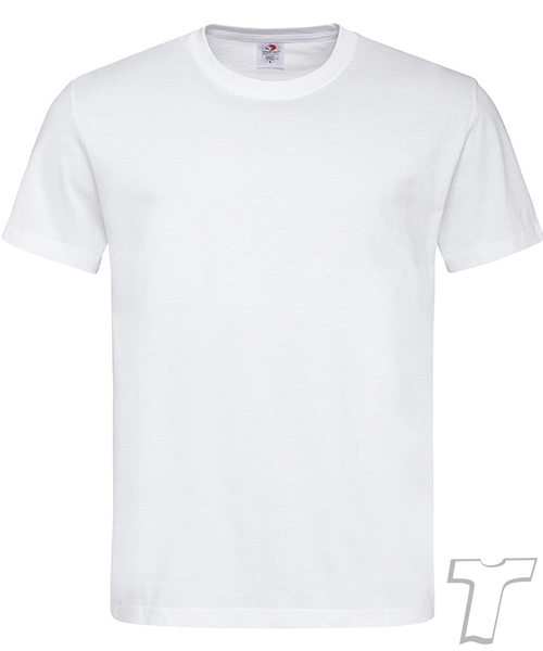 Stedamn Men T Shirt White