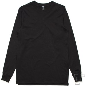 CB Clothing Co Men M6 Long Sleeve T-Shirt Black