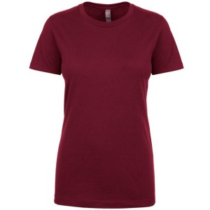NL Apparel Ladies T-Shirt Maroon