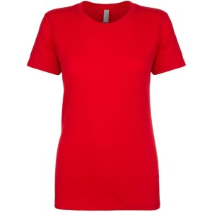 NL Apparel Ladies T-Shirt Red