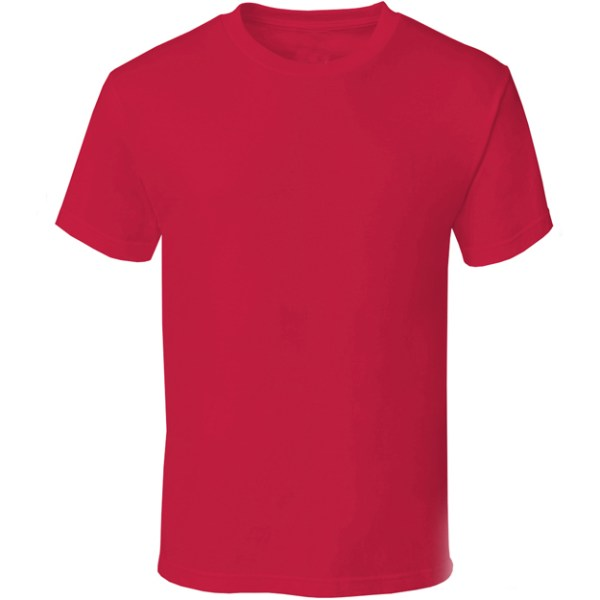 TBTS QUOZ Men Wave Hot Red Tee