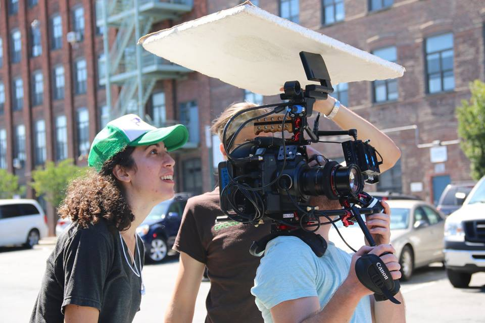 "Jess Thoubboron directing short film ""Strangers"""