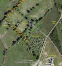 2012 showing old rail line near Craigmuir