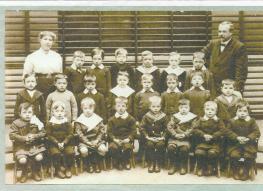 1911 John Duncan at School