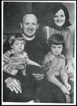 1976 Mr Silcox and family