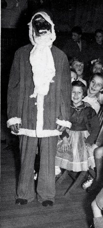 1950s Scary Santa at High Blantyre