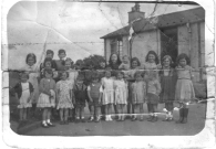 1953 Children of Village Prefabs