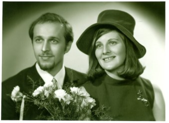 1969 Joe and Janet Veverka marry