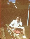 1969 Janet Duncan in Stonefield Cresc Garden