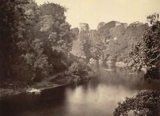 1870 Bothwell Castle & Blantyre fisherman