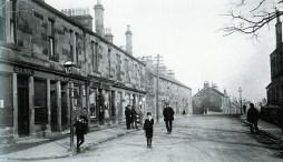1913 Main Street looking East at Auchinraith (PV)
