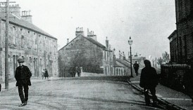 1913 Main Street looking East towards Auchinraith