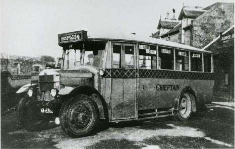 1920 Chieftain Bus