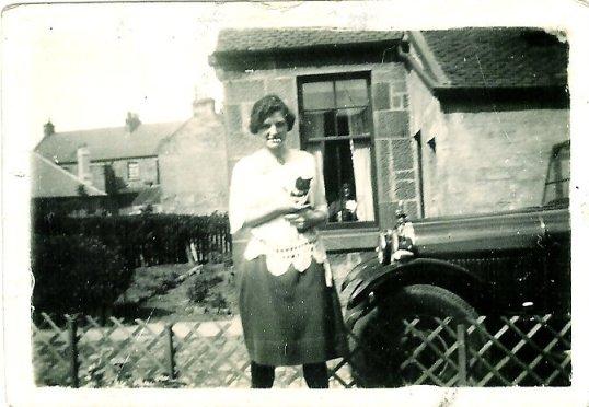 1928 Mary Danskin Blantyre