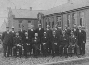 1928 Miners Welfare at Calder St, upon opening.
