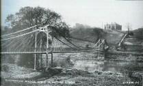 1931 Suspension Bridge & works school