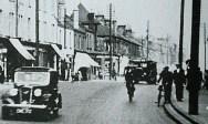 1937 Close up of Glasgow Road near John Street and bottom of Logan Street on right