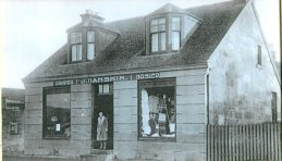 My grandmother's photo. NOT for publication. 1938 Danskins Shop, Stonefield Rd