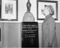 1950 Inspecting David Livingstone Centre