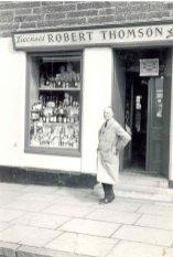 1958 Robert Thomson at Hunthill Road