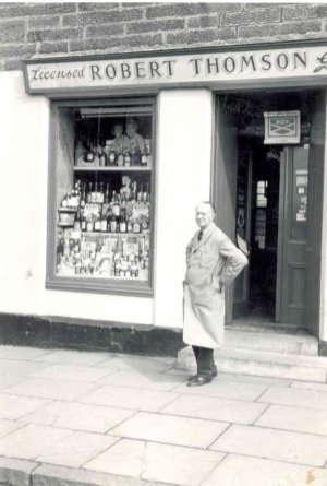 1958 Robert Thomson at Hunthill Road