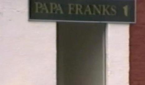1993 Entrance to Papa Franks