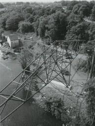 1999 New bridge being built