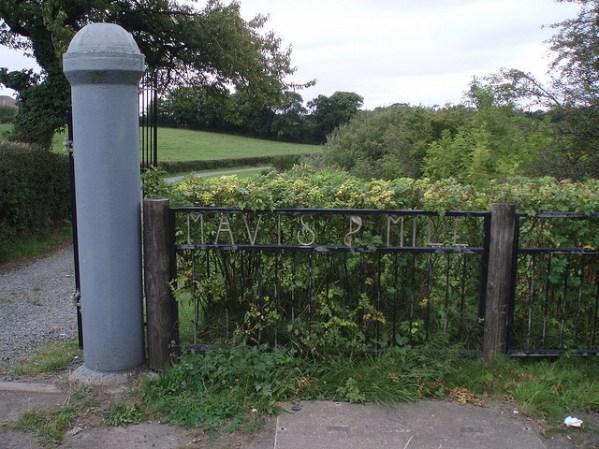 2009 Mavis Mill Entrance photo by J Brown