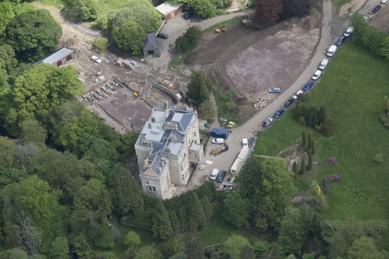 2014 Crossbasket Aerial view
