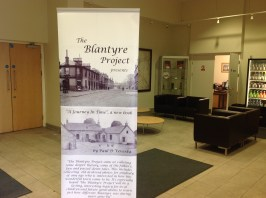 2013 Blantyre Project display in Miners Welfare