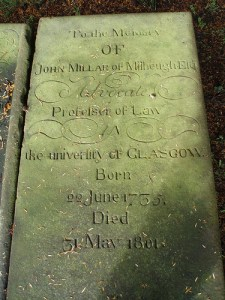 1755 blantyre project John Millar